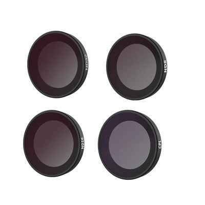 Telesin CPL/ND8/ND16/ND32 Lens Filter Set For Insta360 Go2