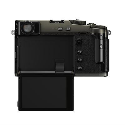 X-Pro3 Dura Black Back screen open