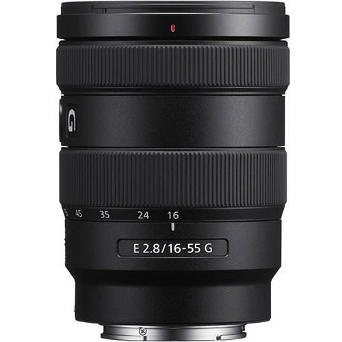 Sony E 16-55mm F2.8 G side