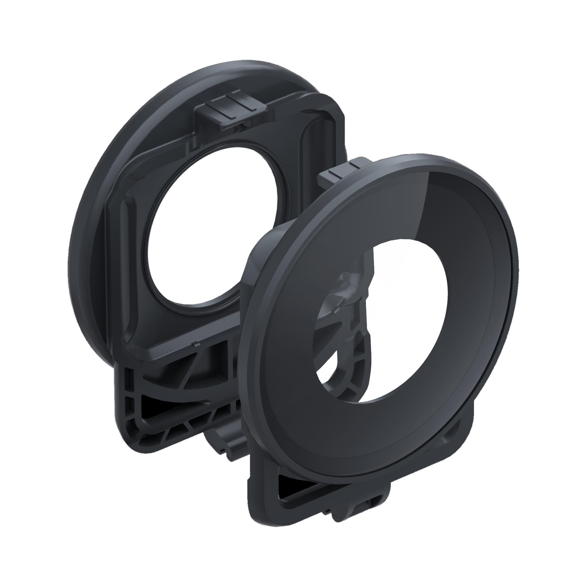ONE R Lens Guard - leftview