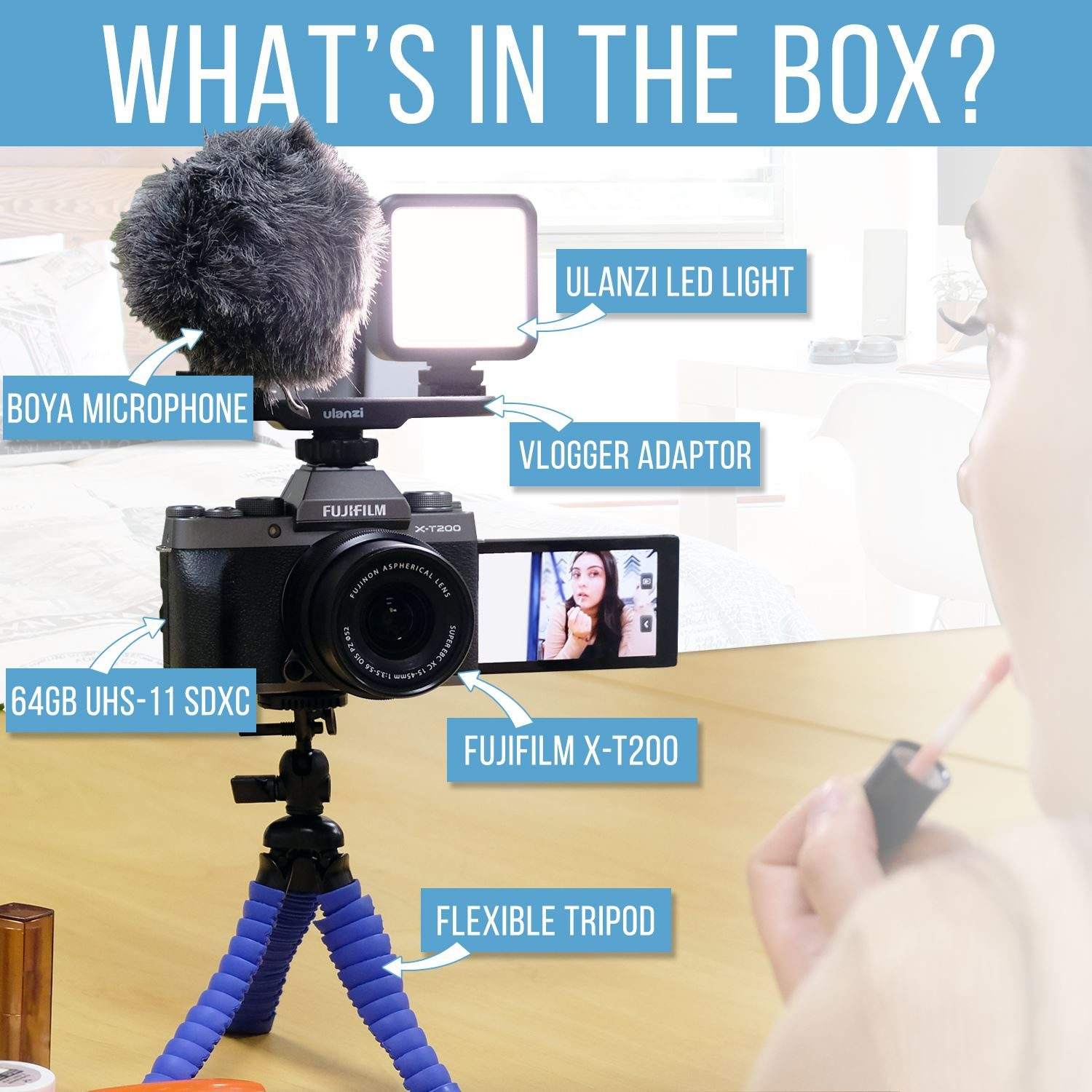 Whasts in the box
