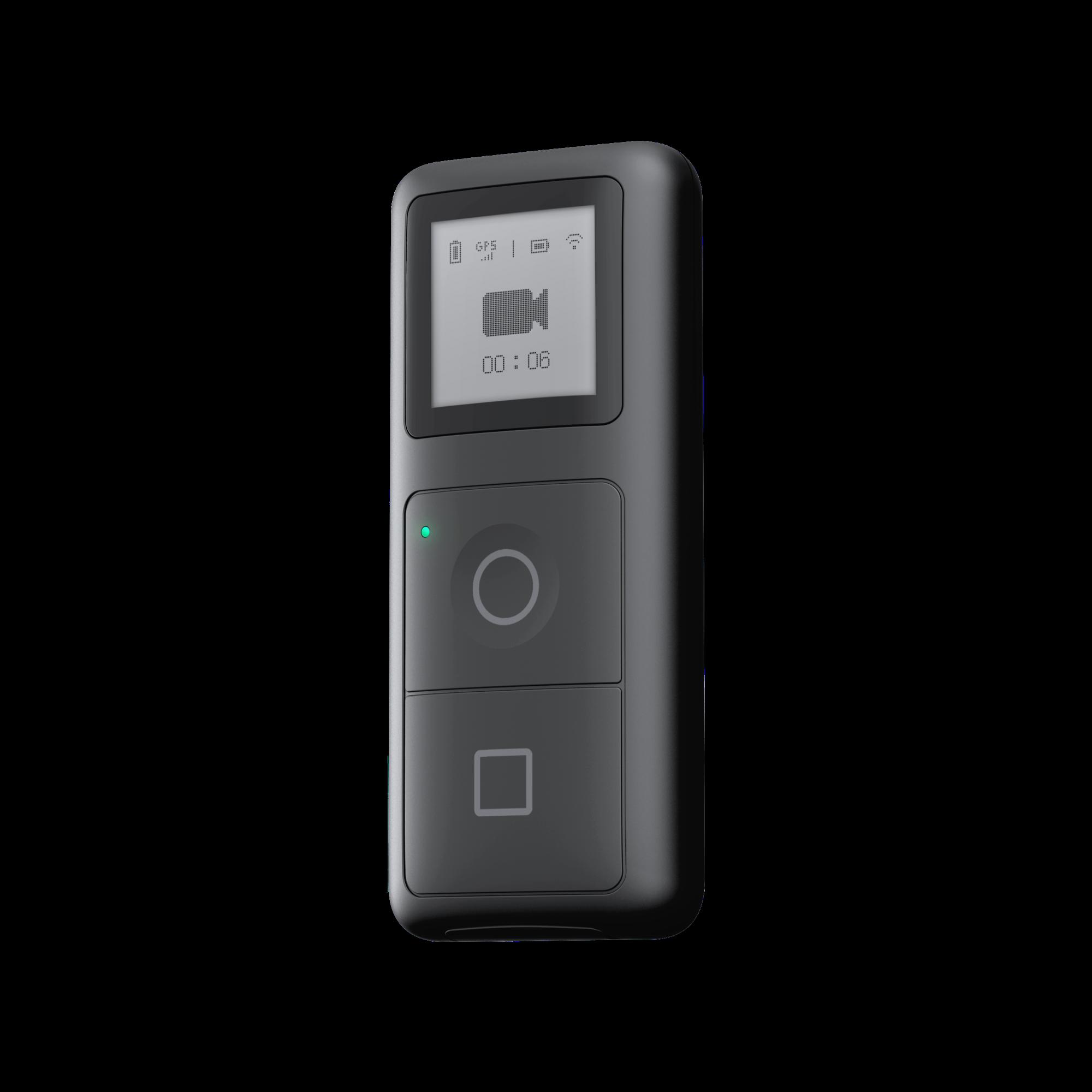 GPS Smart Remote - PerspectiveView - Transparent