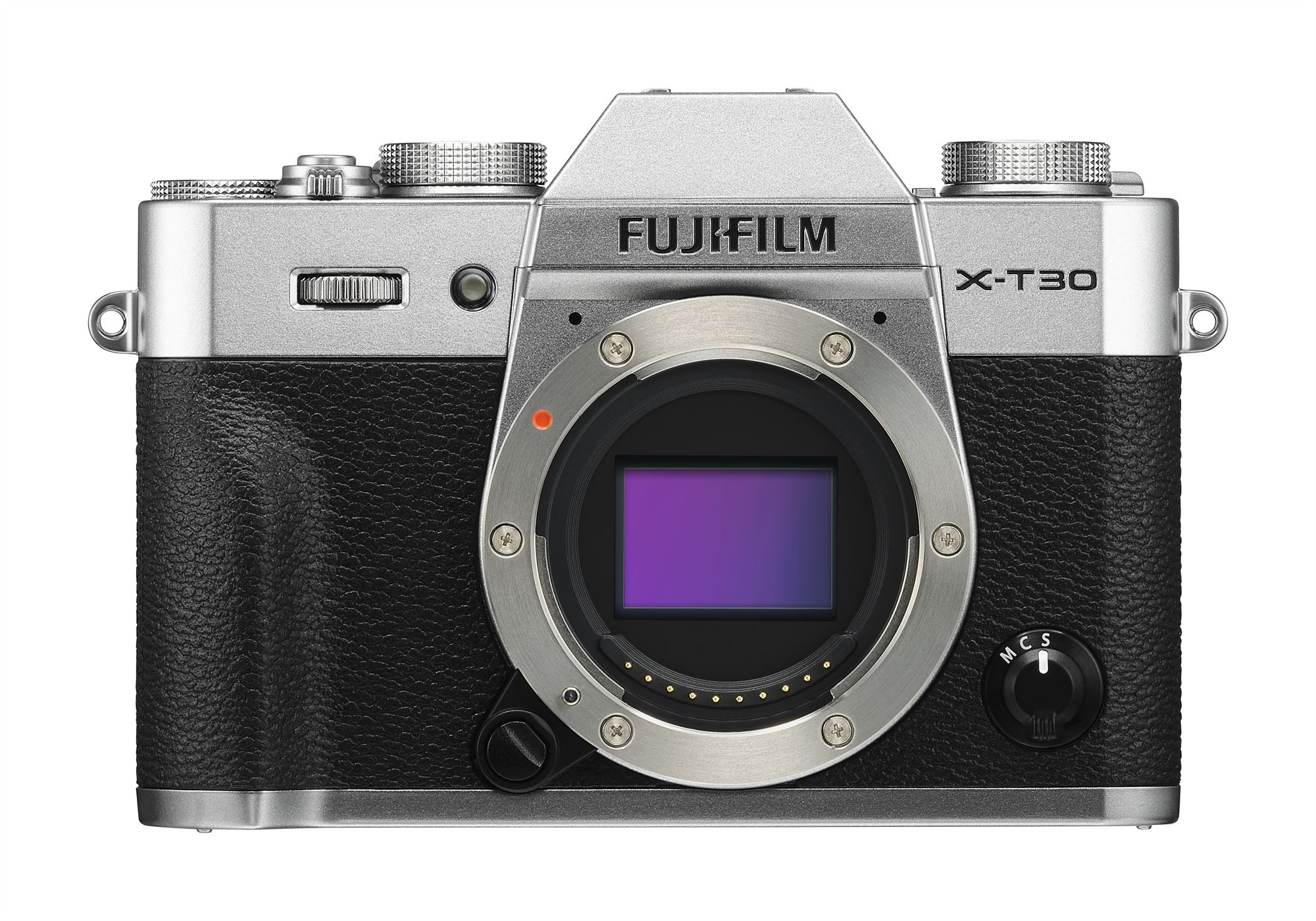 X-T30_Silver_Front