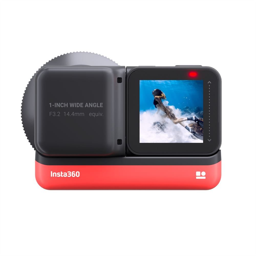 Insta360 ONE R 1-Inch Edition - Backview