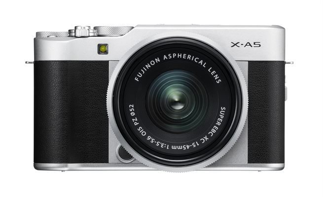 X-A5_Silver_Front XC15-45mm
