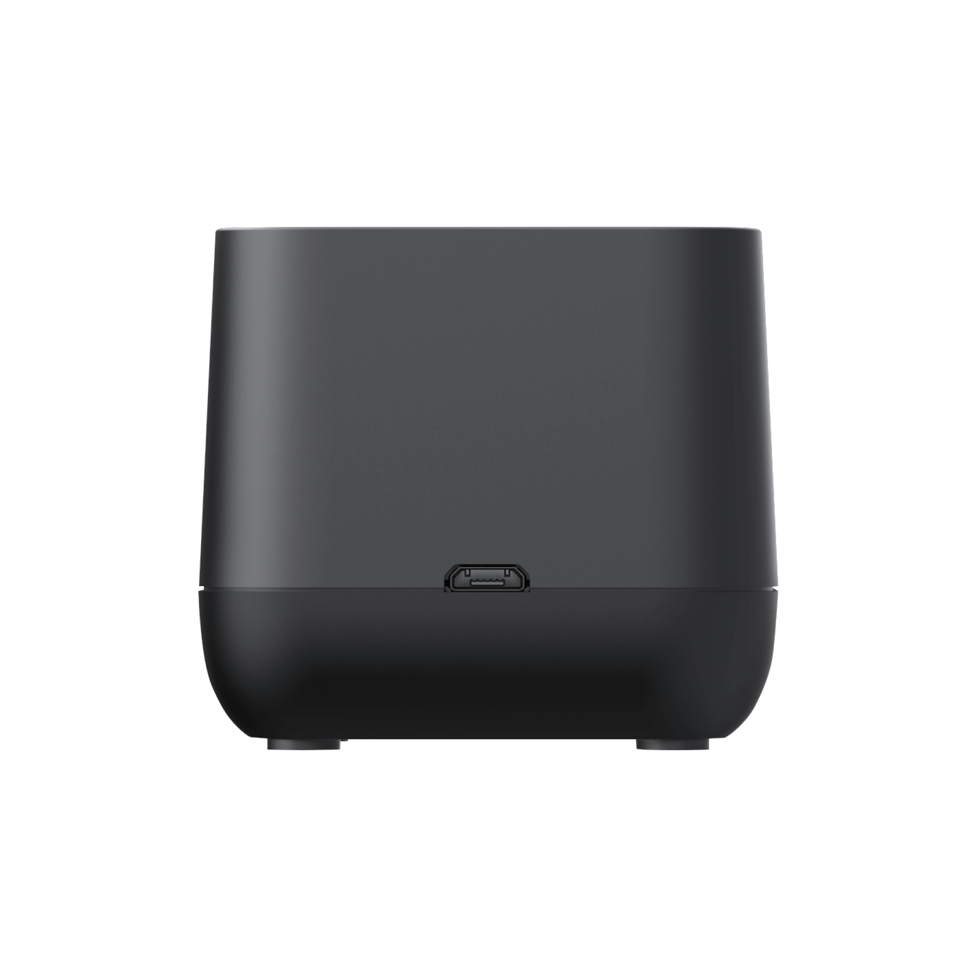 Dual Battery Charging Dock - BackView1 - Transparent